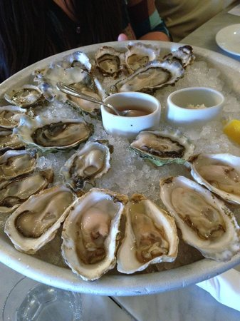 The Walrus and the Carpenter: Oyster platter