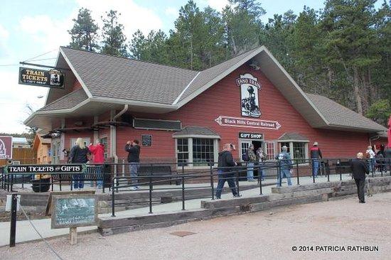 1880 Train/ Black Hills Central Railroad: Keystone Depot
