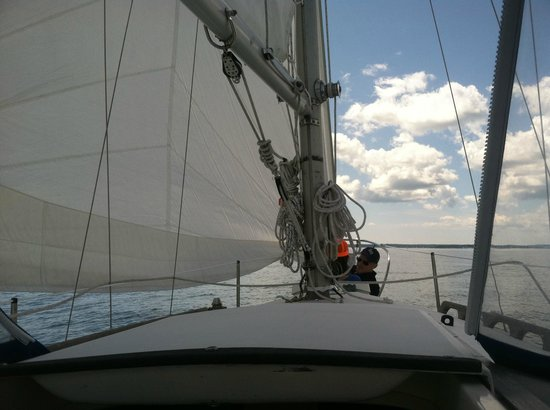 Capt Lyman Stuart, LLC: Sailing with Capt. Stuart