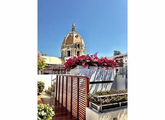 Casa Claver Loft Boutique Hotel: fancy rooftop view