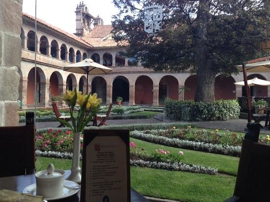 Belmond Hotel Monasterio : View from the restaurant