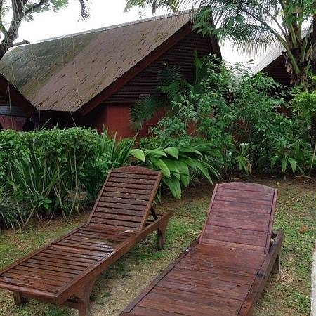 Sunset Bungalows Resort: View of our Bungalow
