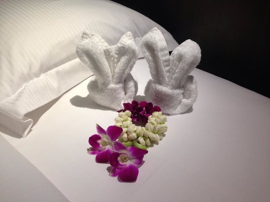 Hilton Phuket Arcadia Resort & Spa: Lovely touch from Housekeeping