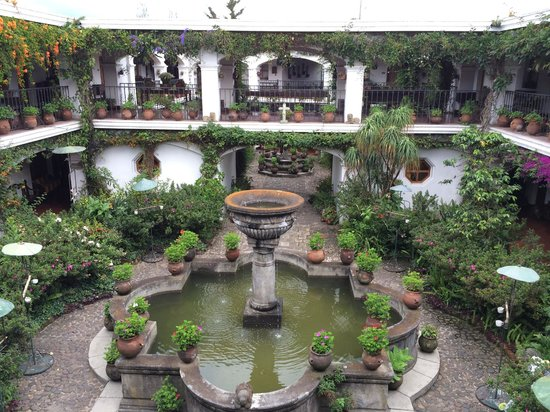 Santo Tomas Hotel: Hotel grounds