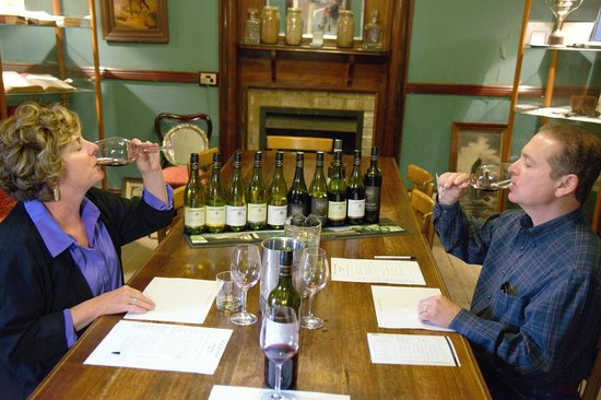 Wine Country Tours: A collegial lesson in tasting wine