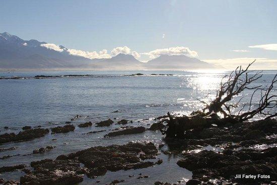 Quality Suites Kaikoura: Stunning coastal scenery