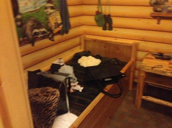 Great Wolf Lodge: This isn't my stuff ...is it yours?  Wrong room assigned