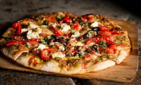 Mediterranean Pizza - Picture Of Australian Pizza Kitchen