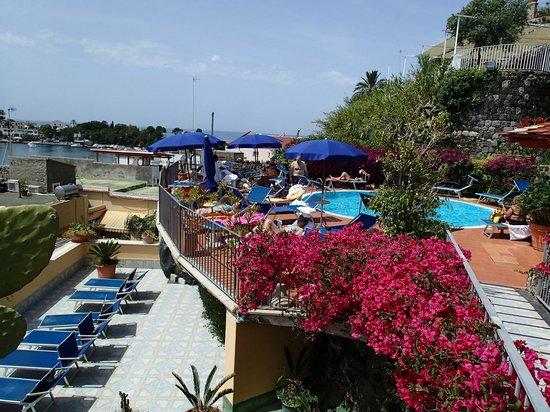 Aragona Palace Hotel : 屋上プール