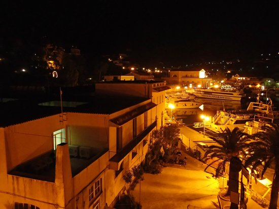 Aragona Palace Hotel: 夜景
