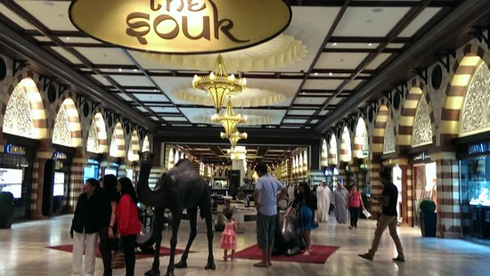 The Dubai Mall : The gold souk