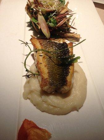 Terrazze: Menù degustazione, secondo piatto di pesce! Pulito, gustoso bello da vedere ma soprattutto buono