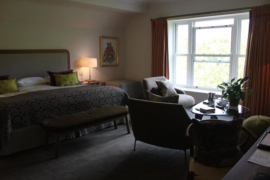 Sheen Falls Lodge: Deluxe Room
