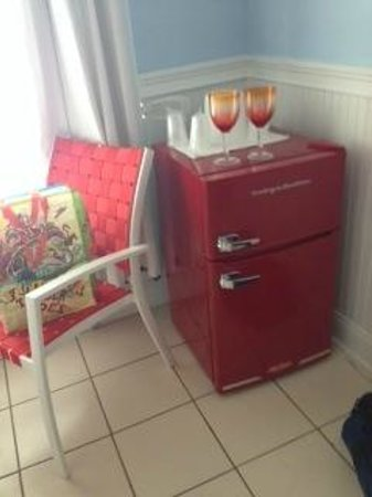 Ibis Bay Beach Resort: Love the retro fridge
