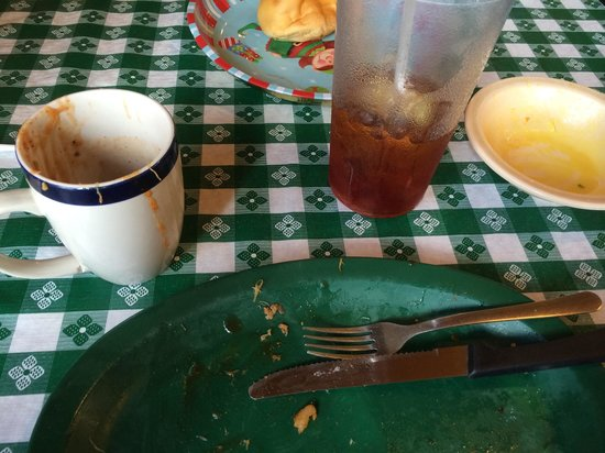 Leatha's Bar-B-Que Inn : I'm Full