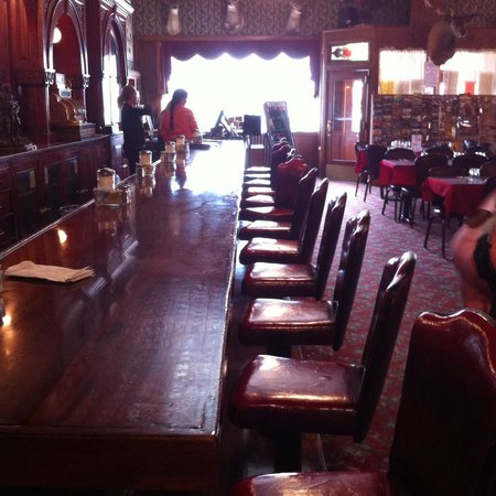 Irma Restaurant and Grille: The Bar is a historical work of art!