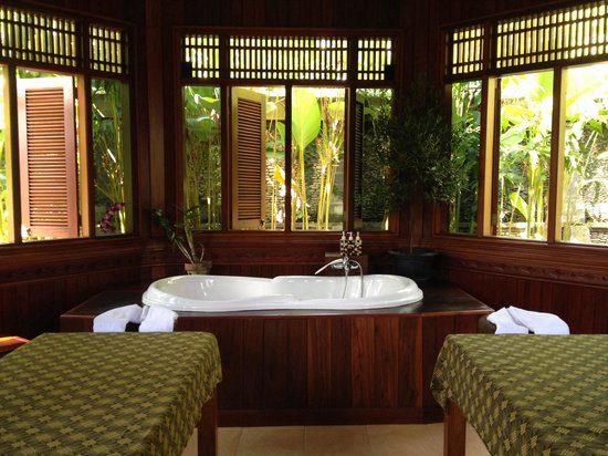 Bhuwana Ubud Hotel: Spa room