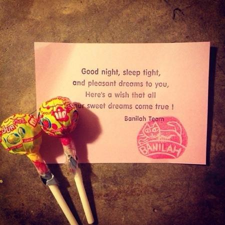 Banilah: so sweet.