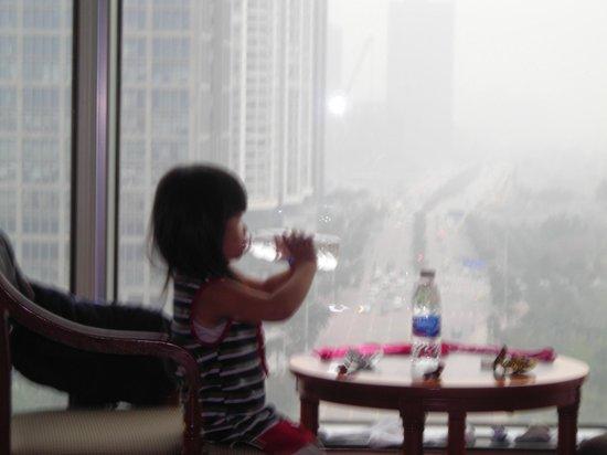 Ramada Pearl Guangzhou: Vue super sur Pearl River