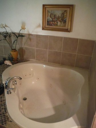 Rock Laurel Bed and Breakfast : Jacuzzi for two!