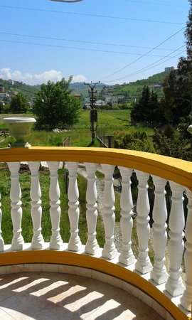 Vila Gersina: View from Balcony of suite 9