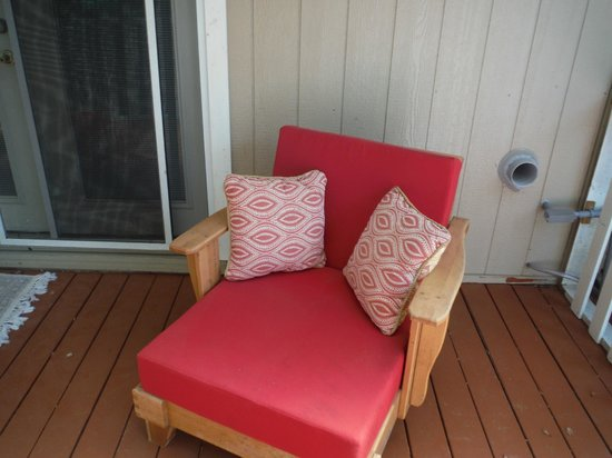Rock Laurel Bed and Breakfast: My wine and book reading chair