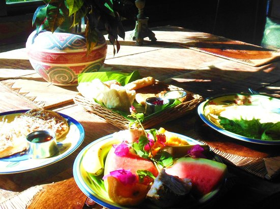 Crystals St Lucia : Wonderful breakfast!