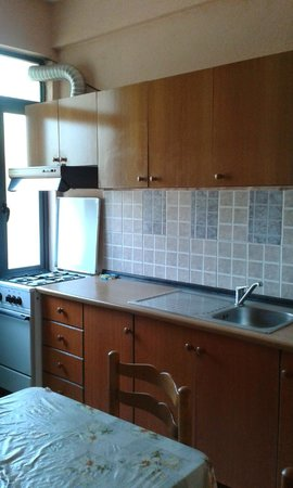 Vila Gersina : Kitchen at Room 7