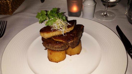 Lavault: Filé com foie gras