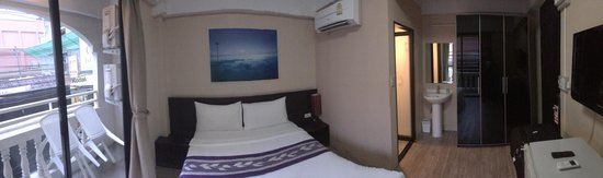 White Patong: panoramic of the room