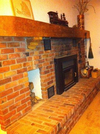 La Grange : Fireplace