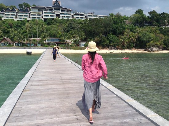 InterContinental Samui Baan Taling Ngam Resort: Going back to the Hotel