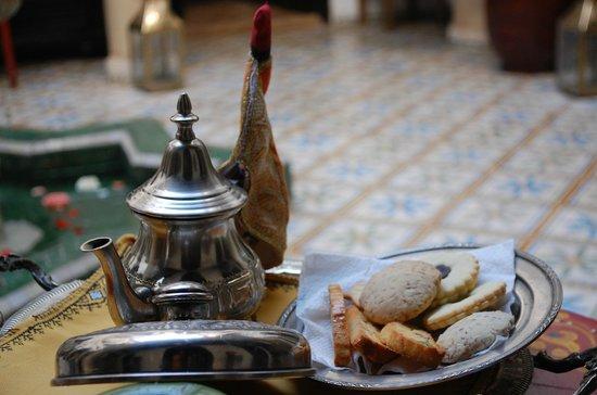 Riad Adriana: Welcome Tea at the Riad