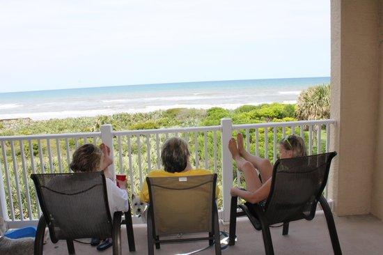 Cinnamon Beach at Ocean Hammock Beach Resort : view from balcony