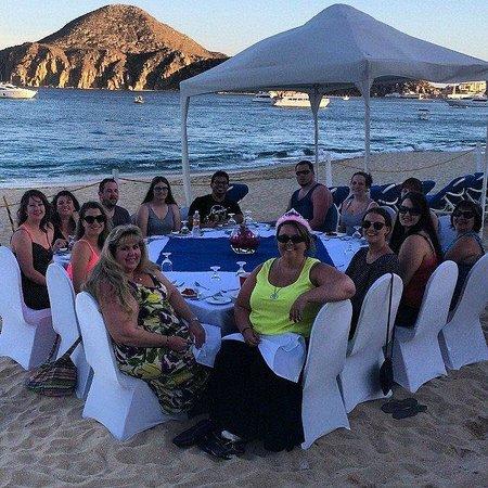 Pueblo Bonito Los Cabos: Bday dinner