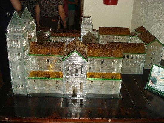 Mosteiro De Sao Bento: Maquete do mosteiro São Bento