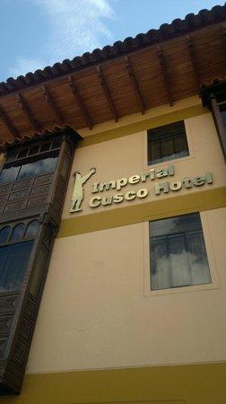 Imperial Cusco Hotel: Vista da frente do Hotel