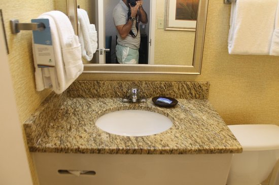 Fairfield Inn & Suites Palm Beach: eu tirando foto