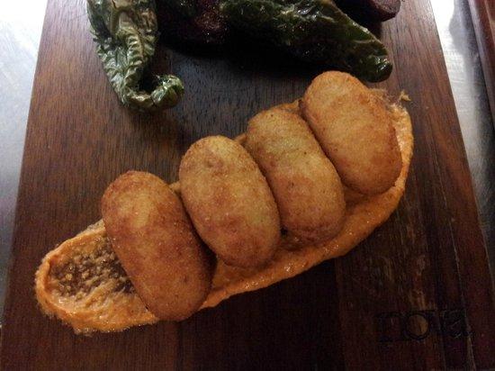 Moda : Chicken croquettes