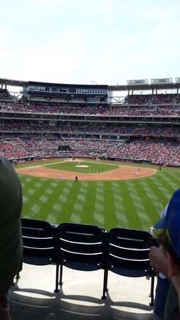 Nationals Park: Behind the outfield seats