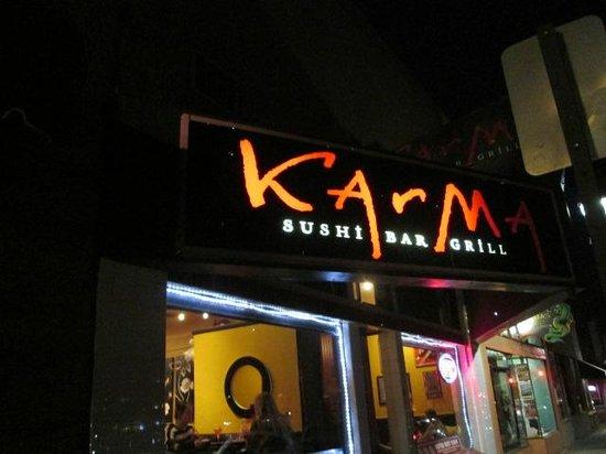 Karma Sushi Bar Grill : Evening