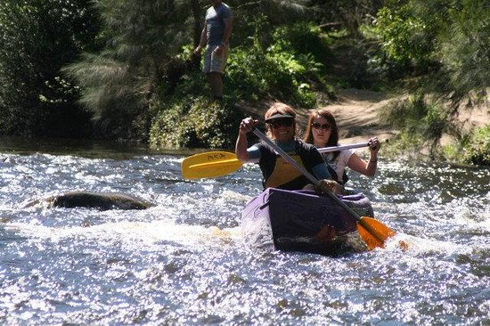 Glenmack Park: onsite kayak & canoe hire