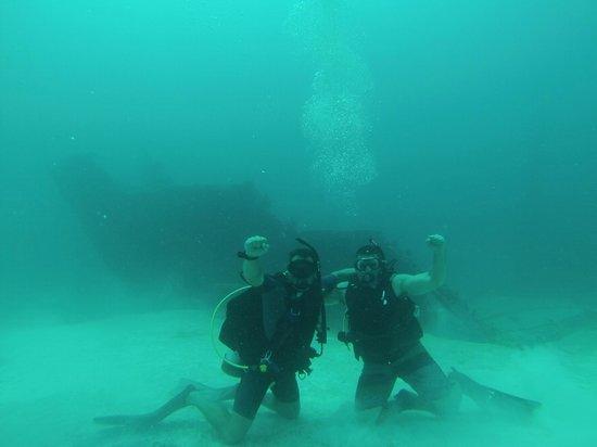 Vigilant Divers Anguilla: Ship wreck