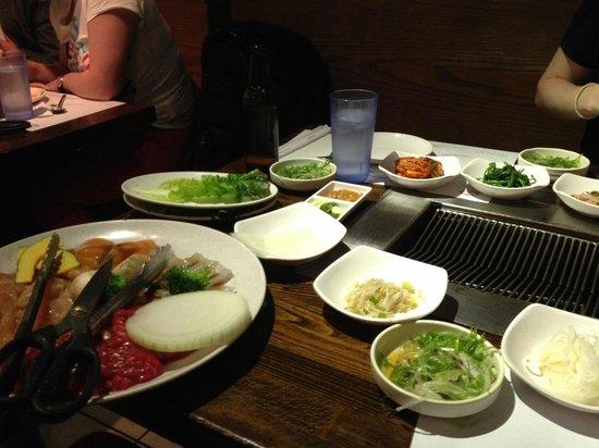 New Wonjo Restaurant: Tasty choices