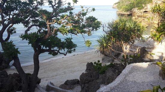 Lingganay Boracay Hotel Resort : Privatstrand und Badebucht