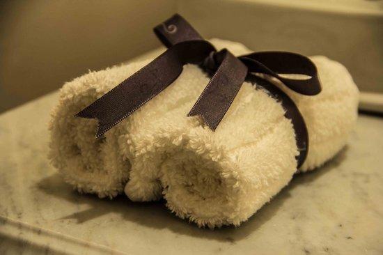 Belmond Palacio Nazarenas: Hand towels