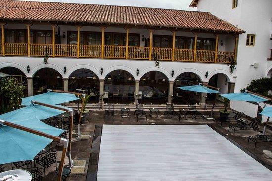 Belmond Palacio Nazarenas: The contemporary wing and pool