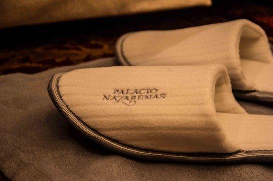 Belmond Palacio Nazarenas: Slippers
