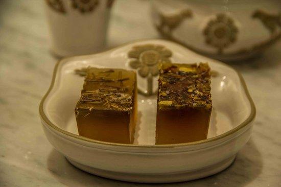 Belmond Palacio Nazarenas: Handmade soap