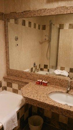 Bettoja Massimo D'Azeglio Hotel : 現代設計的浴室